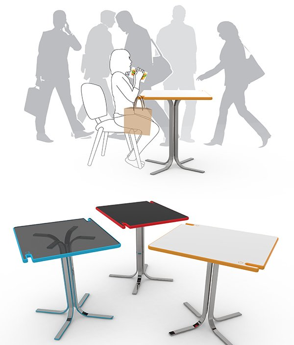 HangOut Table by Kaito Choy, Zhenmin Li, Hyokwon Kwak