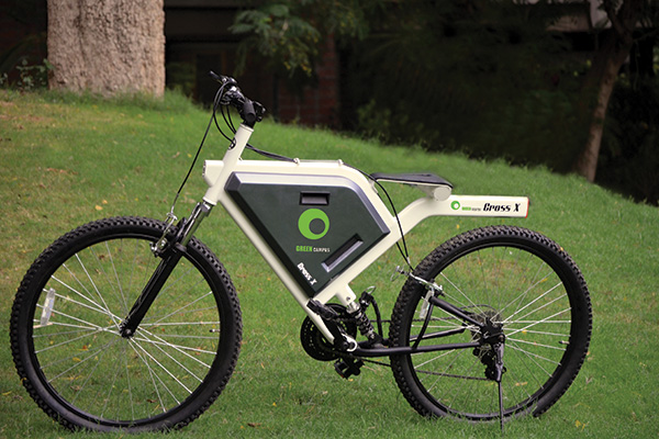 Cross X – Hybrid Bicycle by Mithun Darji
