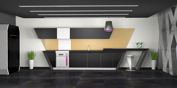 EON 2 Concept Kitchen by Branislav Varnicic