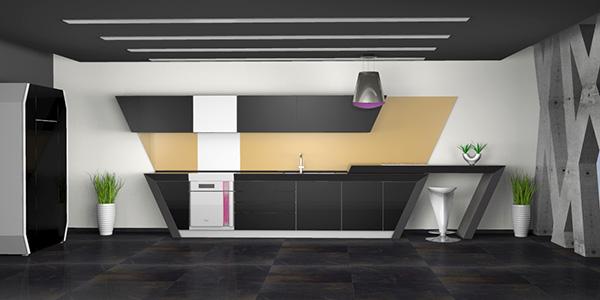 EON 2 Concept Kitchen by Branislav Varnicic