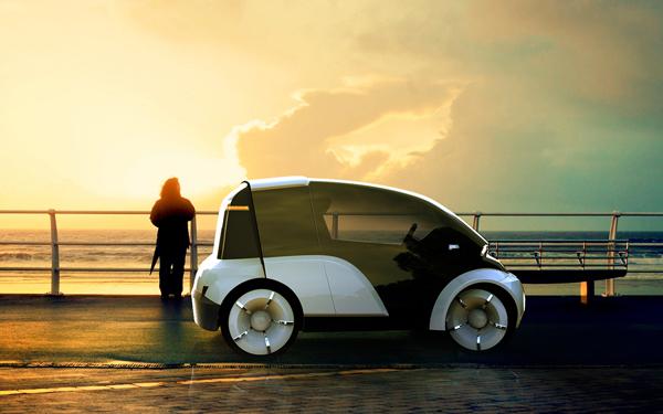 Split&Go - Concept Vehicle by Kenan Haliloglu