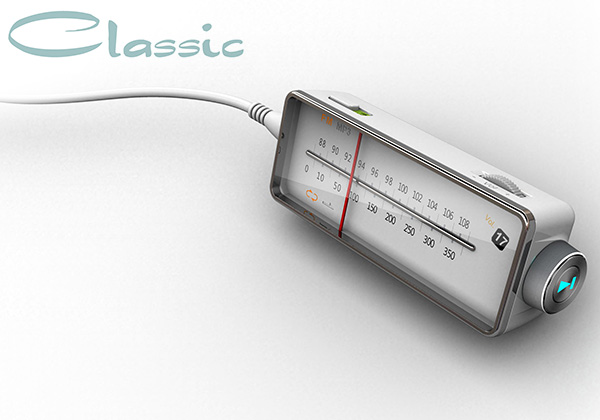 Classic Radio Concept by Sang-Nam Park