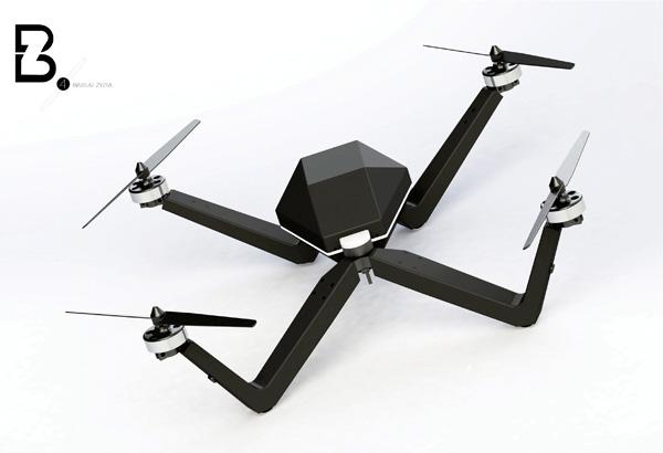 Quadrocopter BZ-4 - Copter by Simona Gluskeviciute