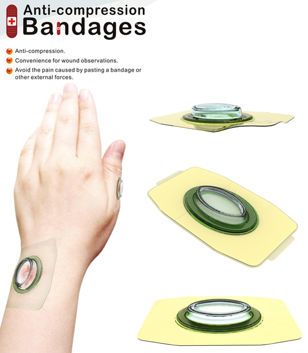 Anti-compression Bandages by Ya-Chuan Ko & Chi-Hung Lo
