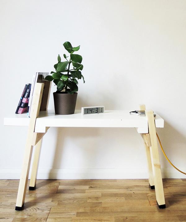 Furniture co-designed by Alexander Schnell Sramek for 3 D Design