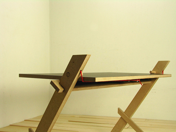 String Table by Saif Faisal Design Studio
