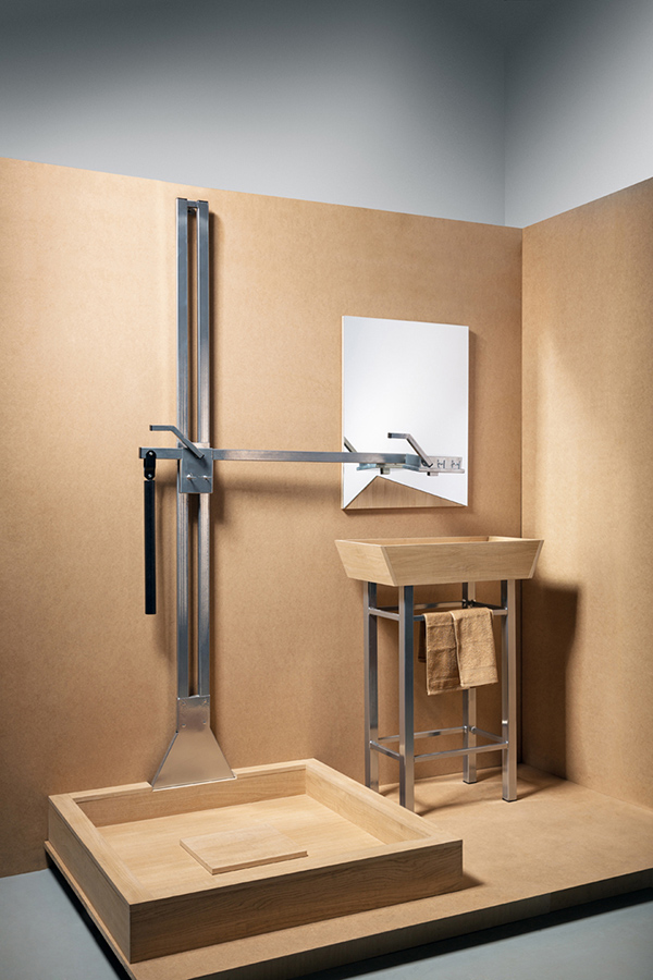Two in One - Shower and Sink Faucet by Julia Kononenko