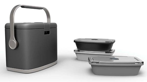 Vacuum Lunch Box by Gu A Reum