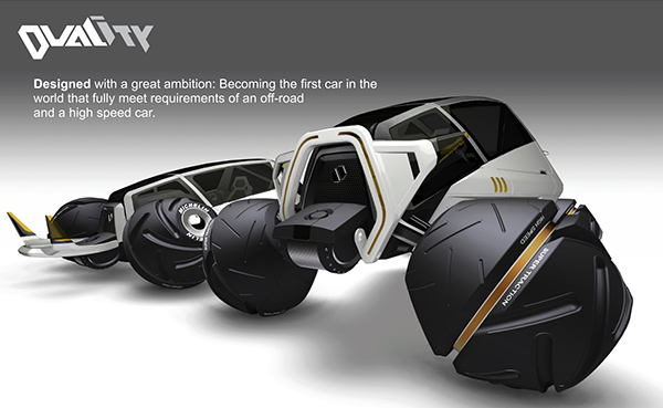Duality - Concept Vehicle by Fernando Machado