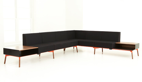 Tombolo - Sectional Seating Series by Justin Champaign & Ben Salthouse for HighTower