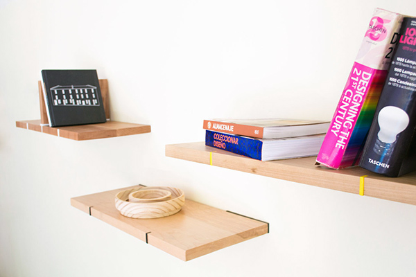 Pedro, Juan & Diego - Shelfs by Nueve Design Studio