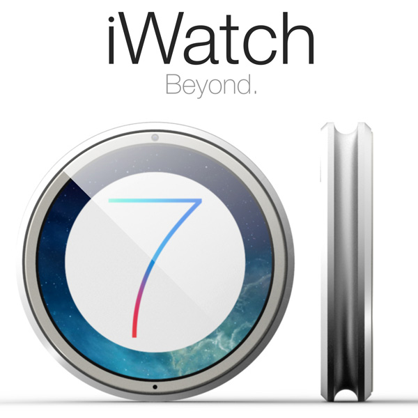The New iWatch With iOS 7 And No Siri - image iwatch7_concept on http://bestdesignews.com