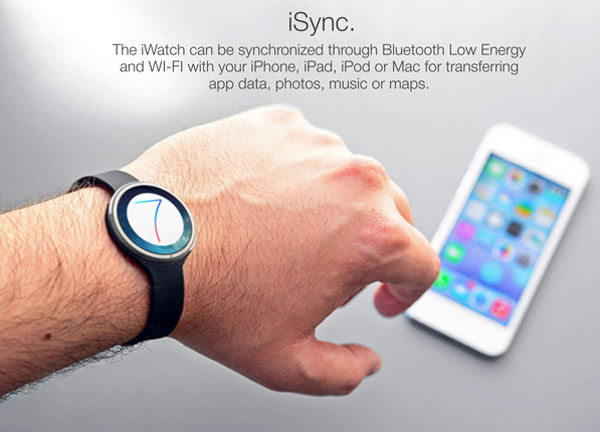 The New iWatch With iOS 7 And No Siri - image iwatch7_concept7 on http://bestdesignews.com