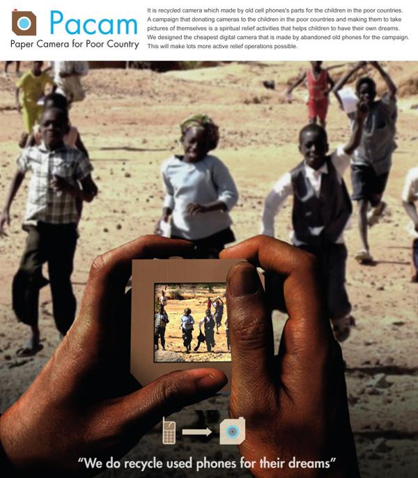 Pacam – Low Cost Children's Camera by Lee Jee Won, Lee Yong Ho & Lee Juan