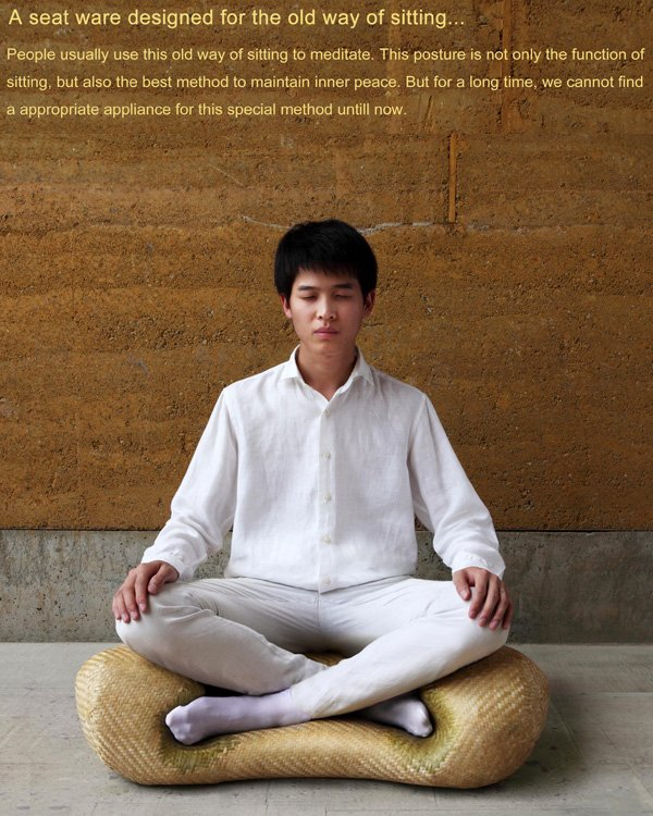 Meditation Seat Ware by NANOIN Design