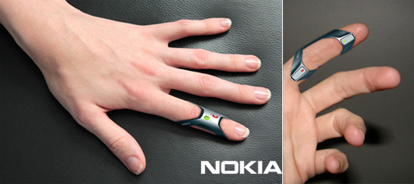 Nokia FIT. Hands-free Cell Phone by Issam Trabelsi