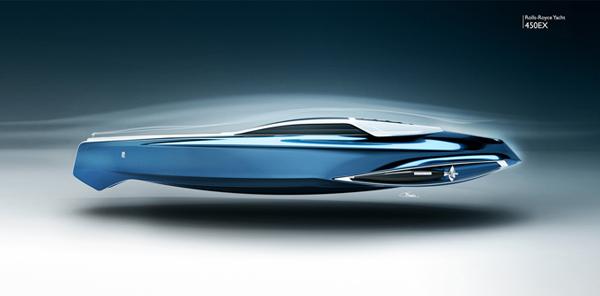 Rolls-Royce 450EX yacht concept by Stefan Monro