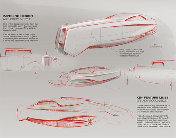Phantom of the marina – Rolls-Royce inspired yacht - image 450EX_10 on http://bestdesignews.com