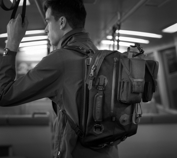 Modular Urban Backpack by Ember Equipment