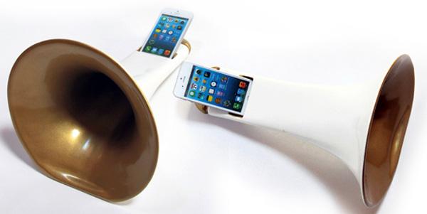 Passive iPhone Amplifiers - image megatono_2 on http://bestdesignews.com