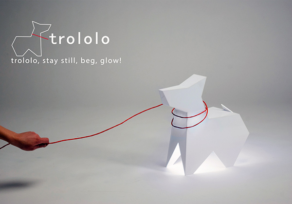 Trololo - Floor Lamp by Eglė Stonkutė
