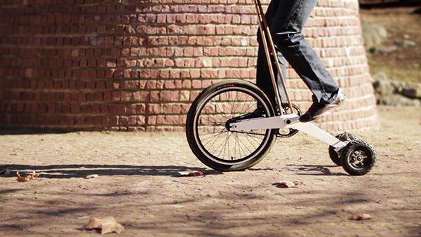 Halfbike by Kolelinia