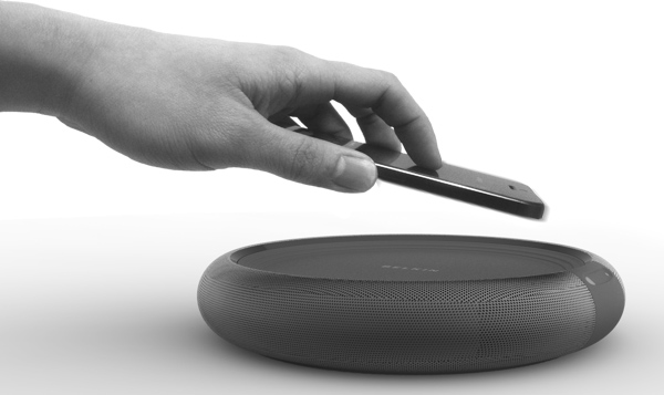 Circle - Wireless Charging and Speaker by Jae Young Jang