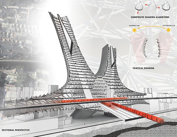 نینا محجوب، طرح برای حل مشکل جمعیت نیویورک،معماری آینده