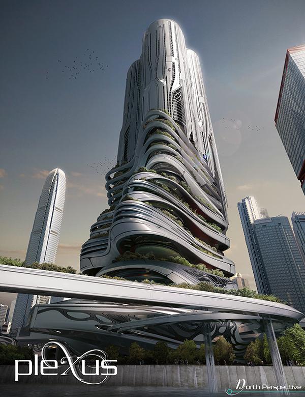 Plexus Tower by Chris Thackrey, Steven Ma, Bao An Nguyen Phuoc, Christos Koukis, Matus Nedecky, & Stefan Turcovsky