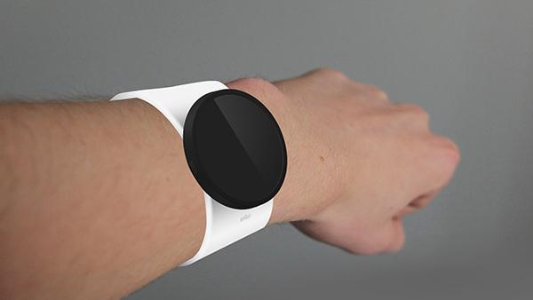 Braun S - Smartwatch by Robrecht Vanhauwere
