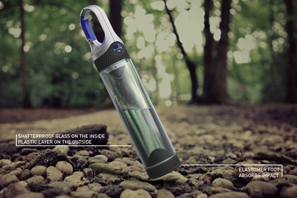 Bottlelight - Camping Bottle and Light by Christoph Kuppert