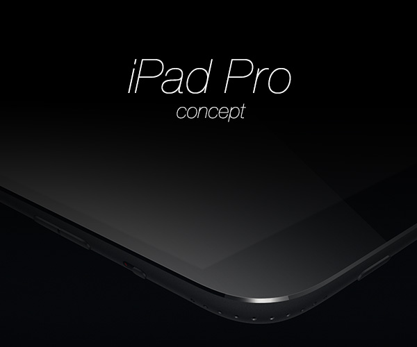 iPad Pro Concept by Ramotion