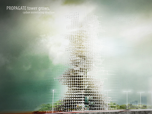 Propagate Tower by YuHao Liu & Rui Wu