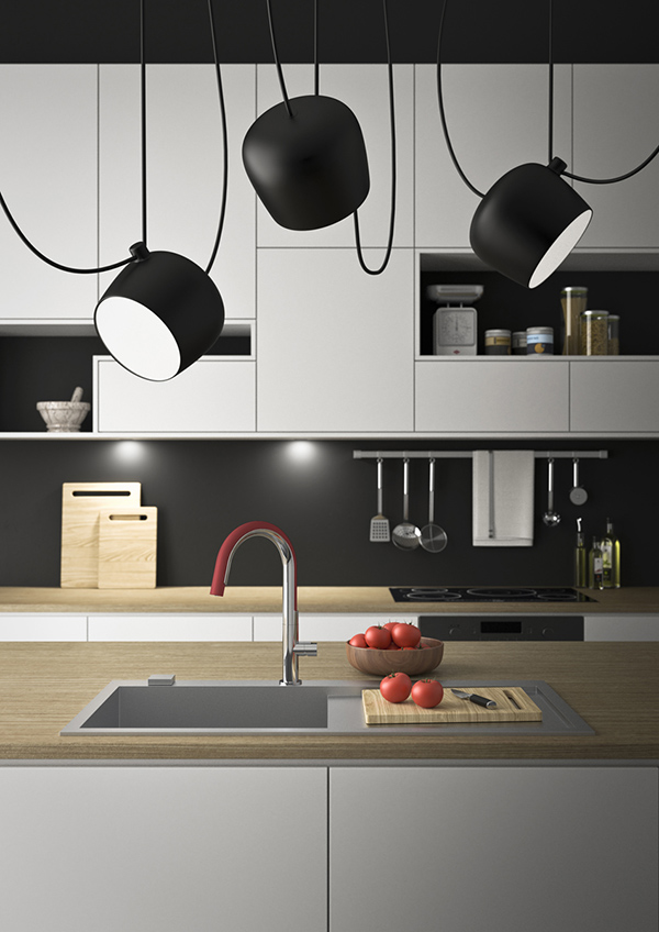 COOK - Kitchen Faucet Design by Sovrappensiero Design Studio