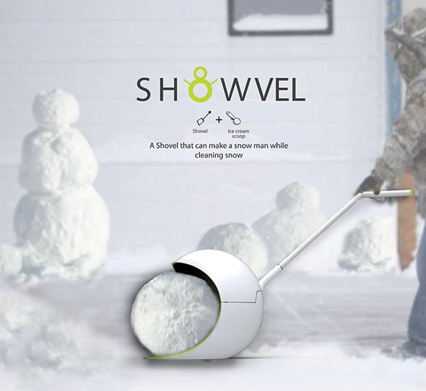 Showvel - Snow Shovel by Arah Ko, Jungsun Park & Hyejin Kim