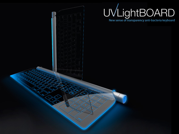 UVLight Board - Keyboard by Mu-Chern Fong