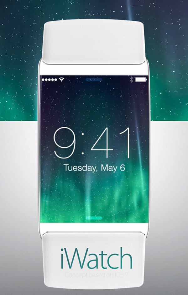 Apple iWatch Concept by Edgar Rios