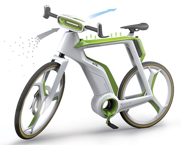 Air-Purifier Bike – Concept Bike by Silawat Virakul, Torsakul Kosaikul & Suvaroj Poosrivongvanid