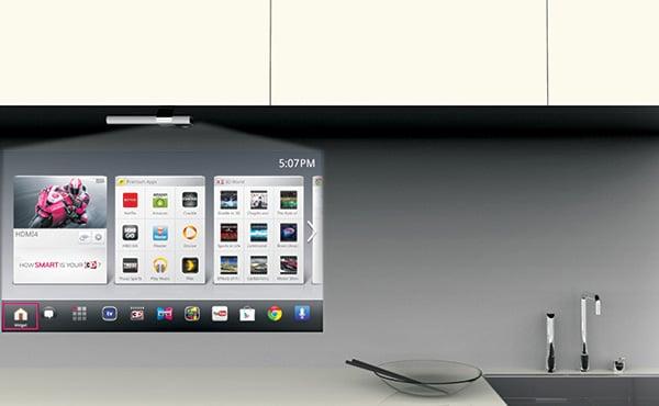 Smart Kitchen TV | Yanko Design