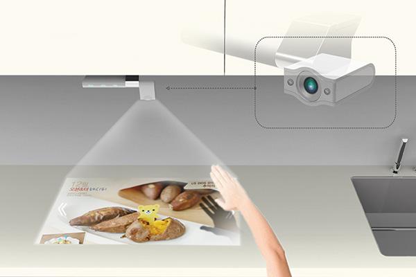 Captivating Smart Kitchen TV