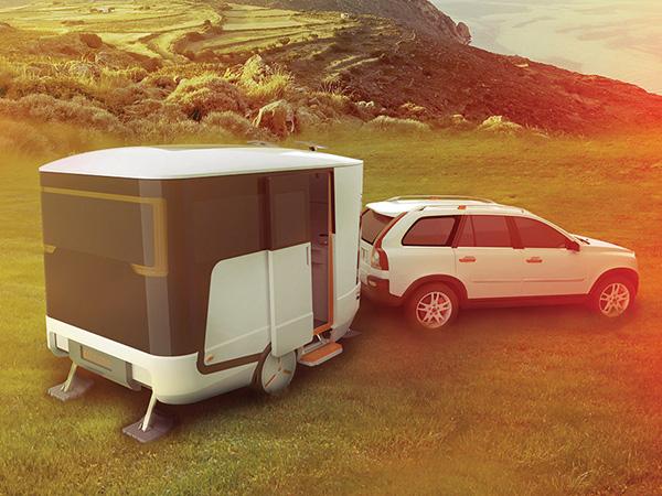 nHome Caravan Concept by Lukasz Paszkowski and Michal Kozlowski
