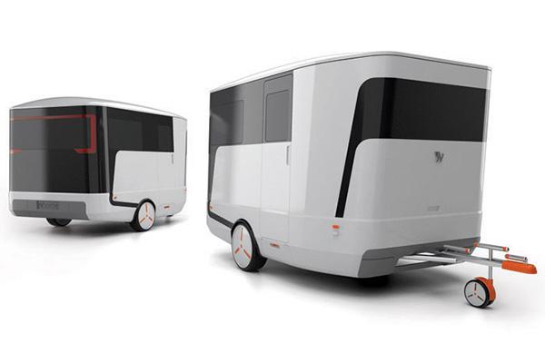 I m home now yanko design for Small caravan interior designs