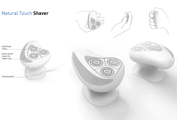 Natural Touch Shaver for Braun by Łukasz Paszkowski
