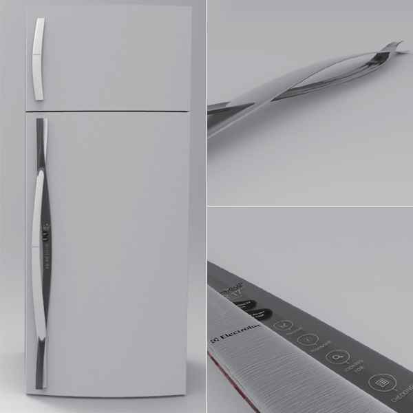 FoodPlus – Smart Handle for Smart Fridge by Yun-Chen Tsai