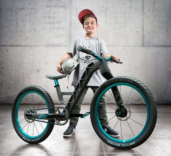 The Growing Kidzbike by Matthias Kolb - pulse design
