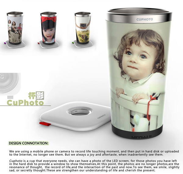 CuPhoto – Digital Photo Cup by Li Min Quan
