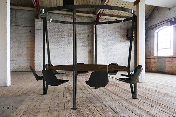 Modern Arthurian Table