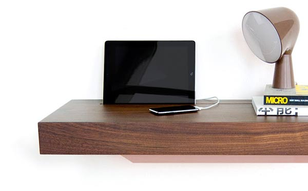 A Smart Shelf For Smart Devices Yanko Design