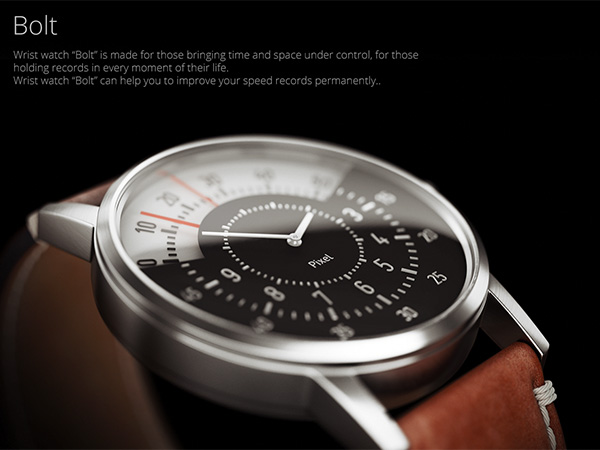 Watch Bolt – Watch Concept by Maxim Mezentsev & Aleksander Suhih