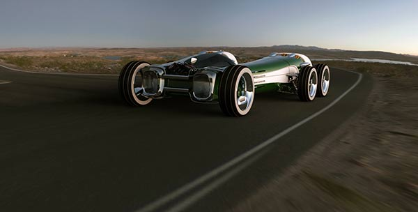 Equinox - Race Car Concept by Ben Tabbitt